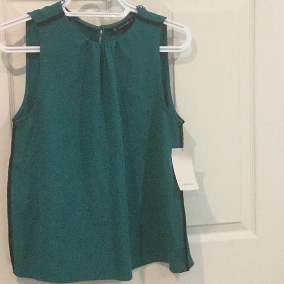 Zara sleeveless blouse